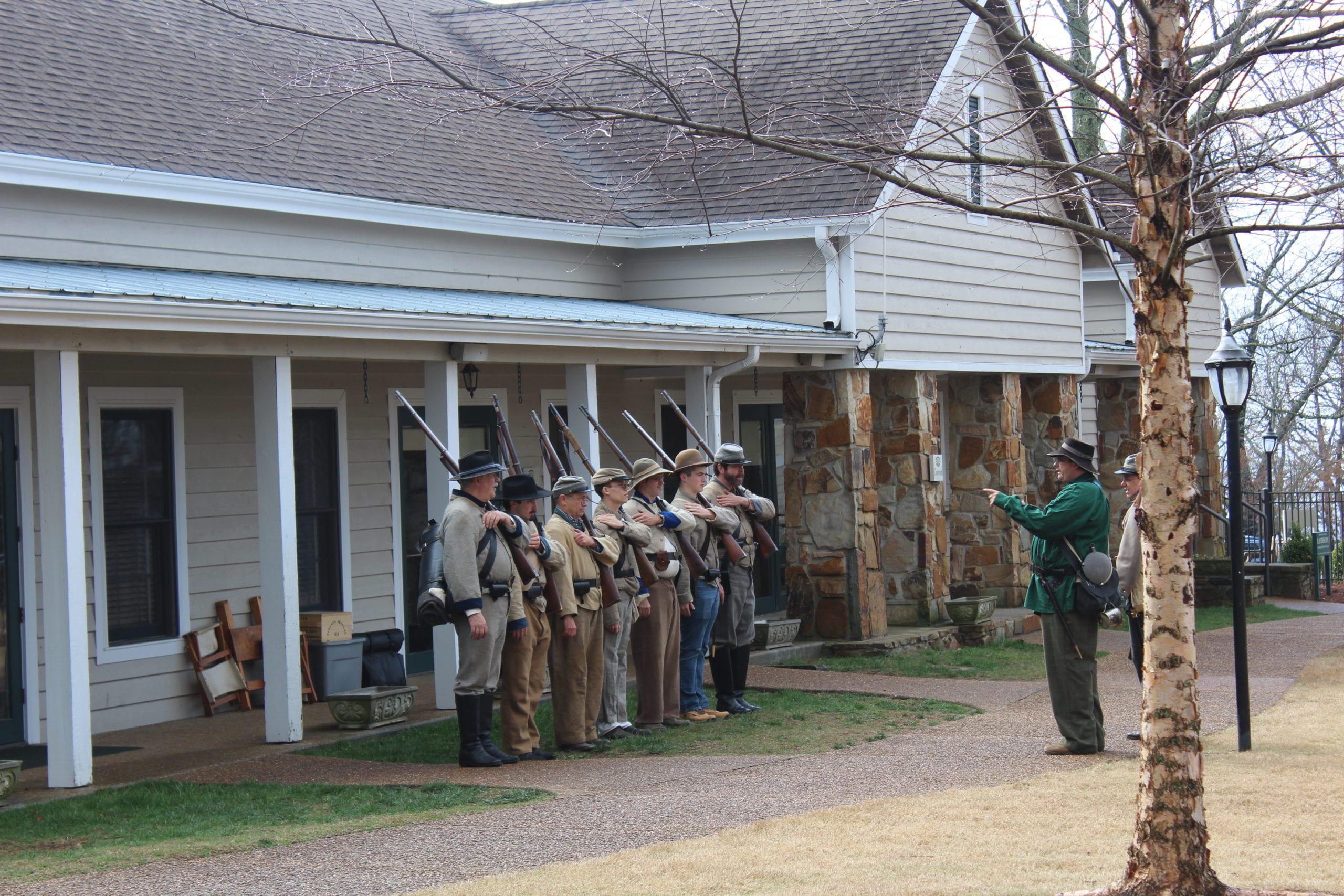 Burritt Home School: The Civil War