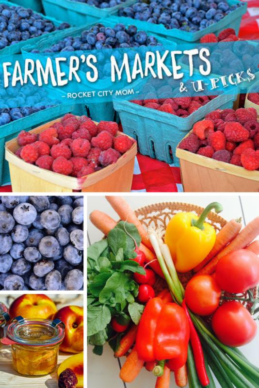 Huntsville farmer's market