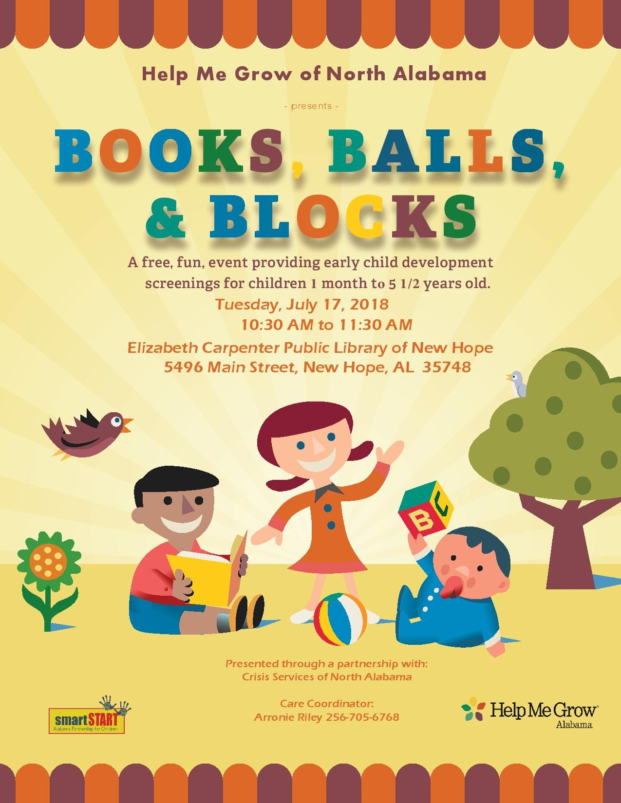 Books, Balls, & Blocks