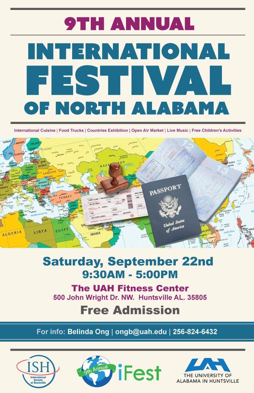 9th Annual International Festival of North Alabama (iFest 2018)