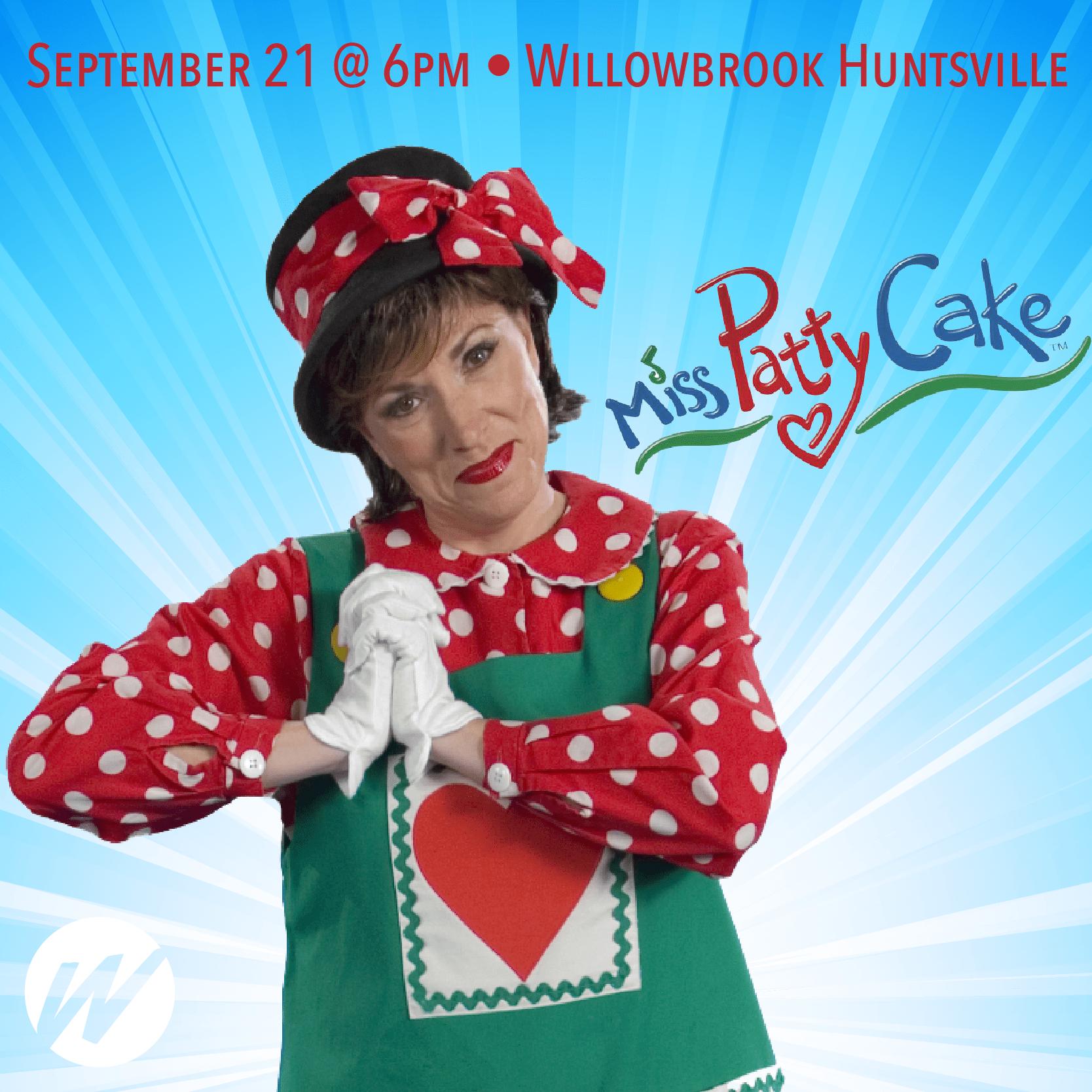 Miss Patty Cake Concert