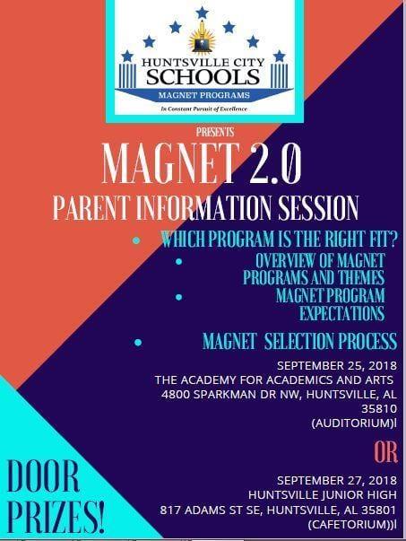 Parent Information Session for HCS Magnet Program