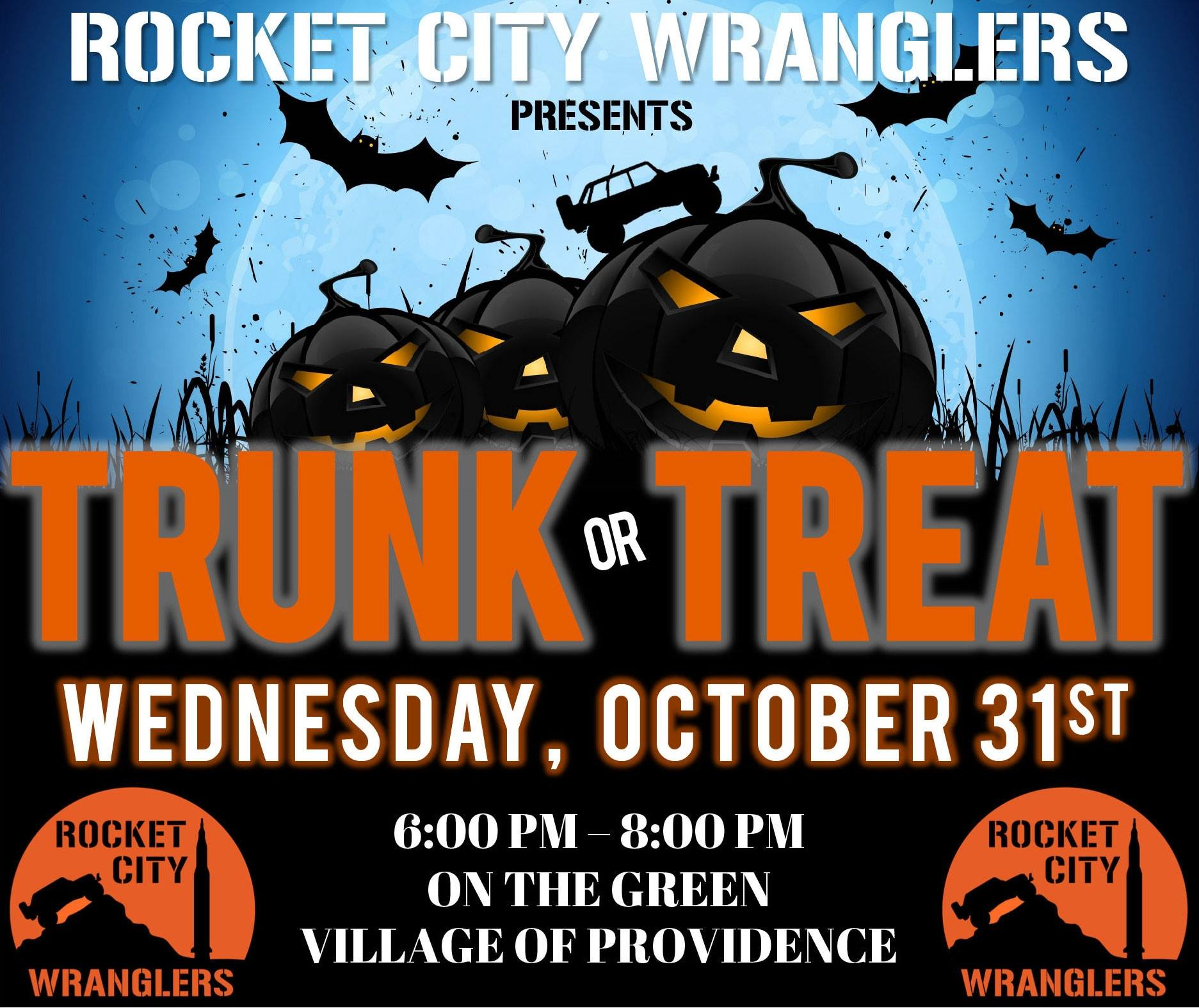Rocket City Wranglers Trunk Or Treat