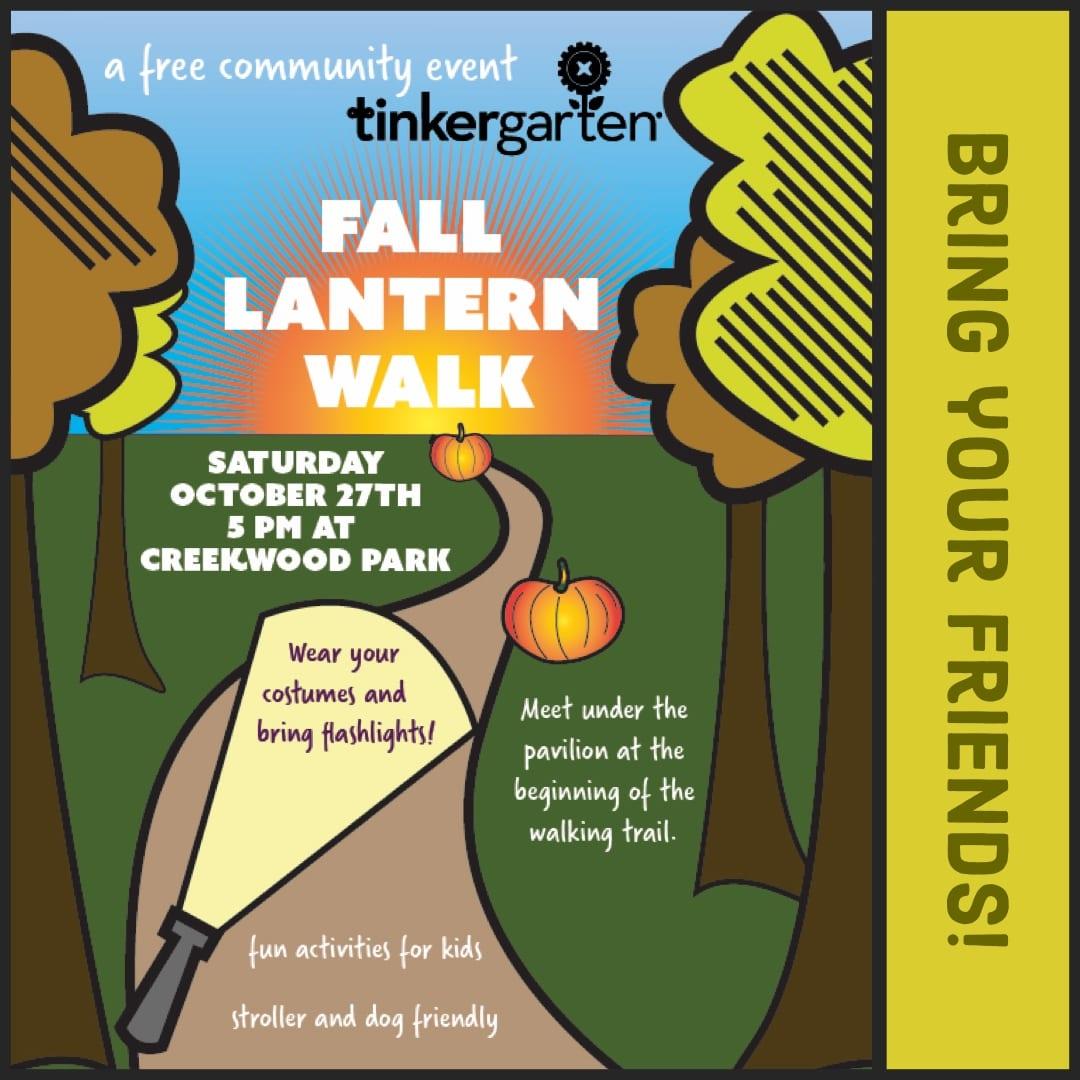 Tinkergarten Fall Lantern Walk