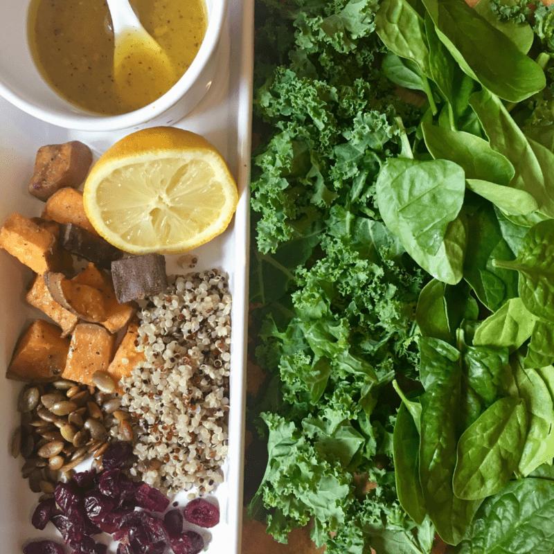 Harvest Fall salads