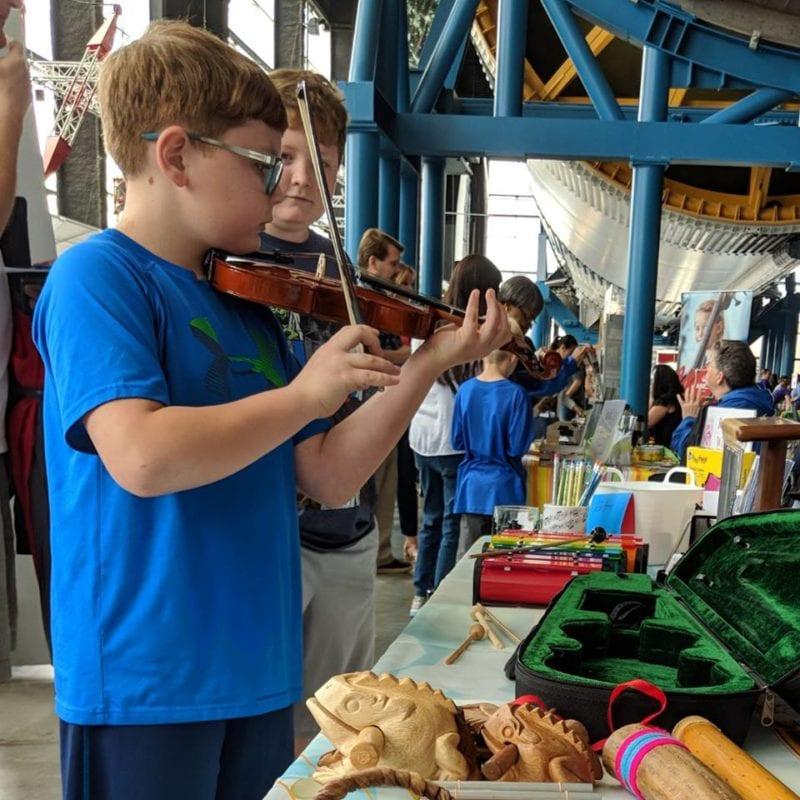 arts huntsville spring into summer activities fair