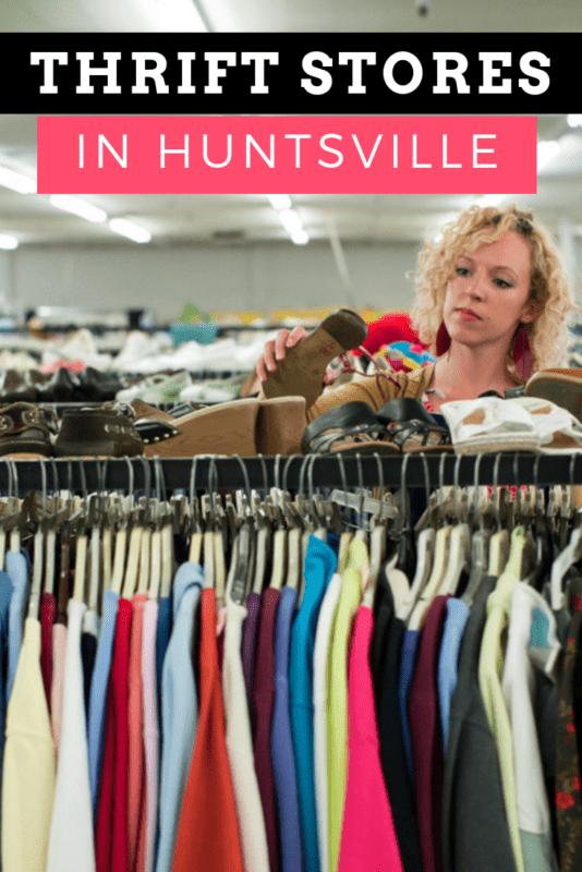 huntsville AL thrift stores