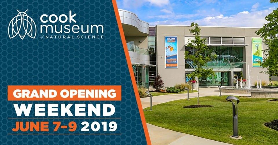 Cook Museum Grand Opening Weekend