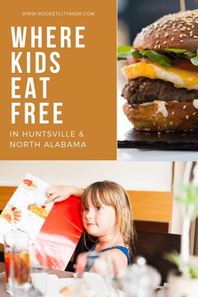 where kids eat free in huntsville restaurant