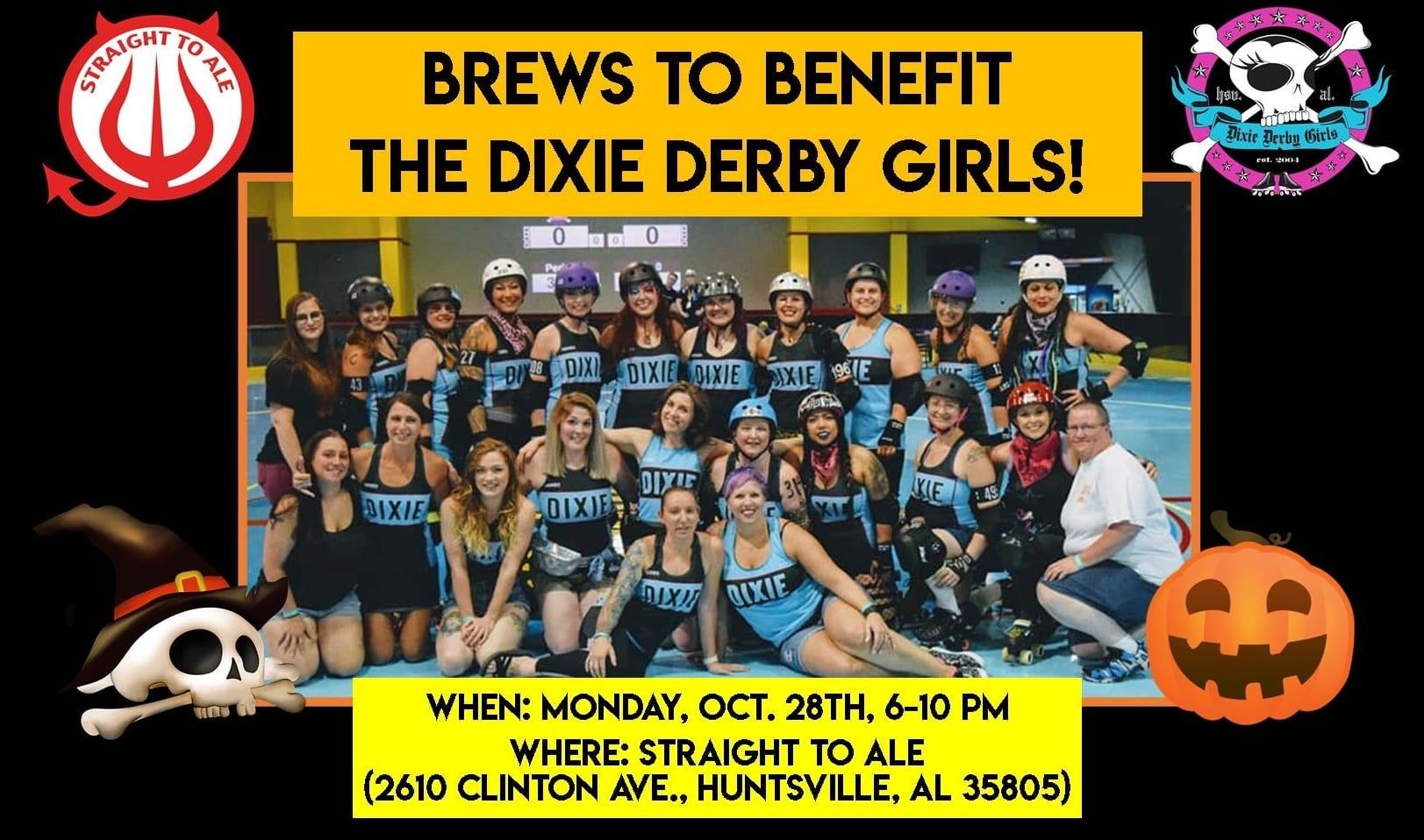 Brews to Benefit the Dixie Derby Girls!