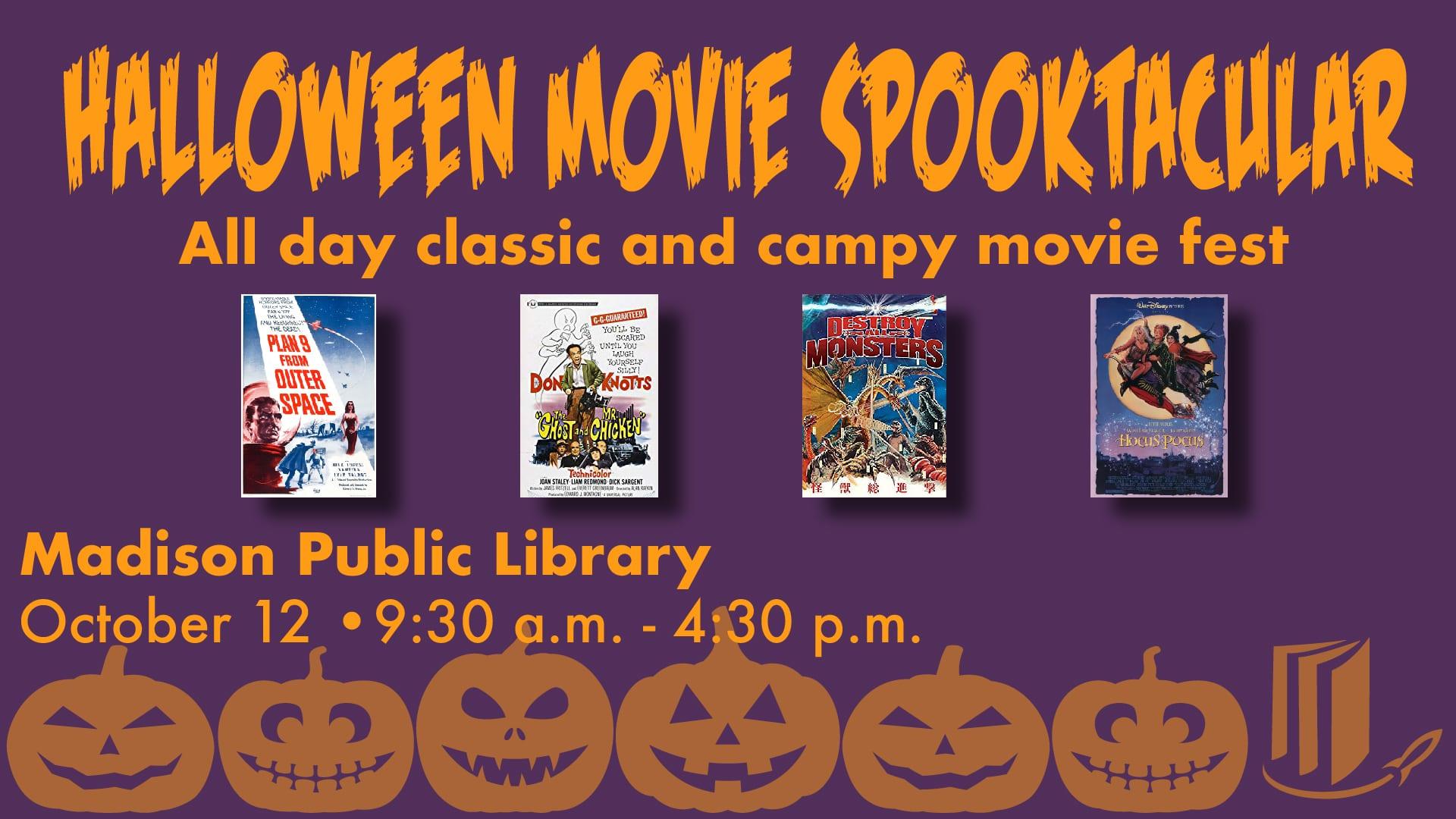 Halloween Movie Spooktacular