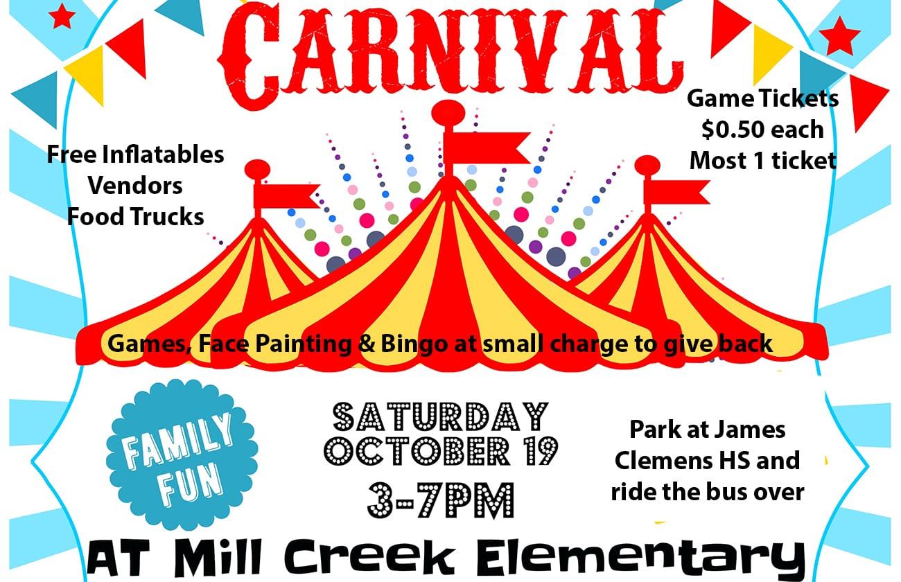 Fall Carnival @ Mill Creek Elementary