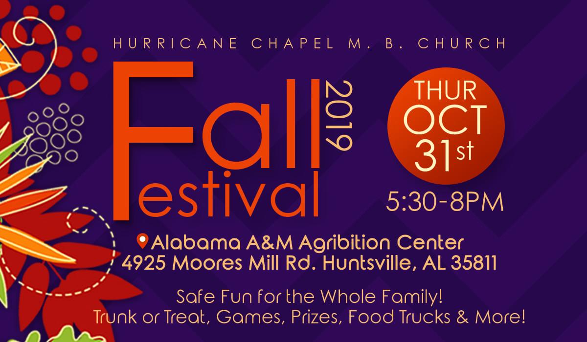 Hurricane Chapel Fall Festival 2019